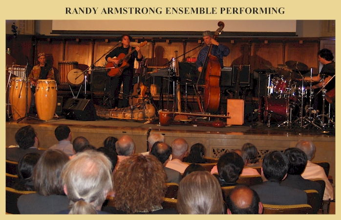 Randy Armstrong Ensemble Performing.