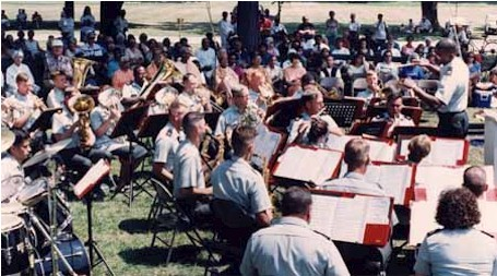 Concert by the United States Army Band of Fort Drum, New York.