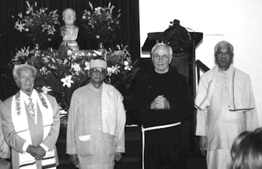 Religious Leaders at the Chapel Altar.