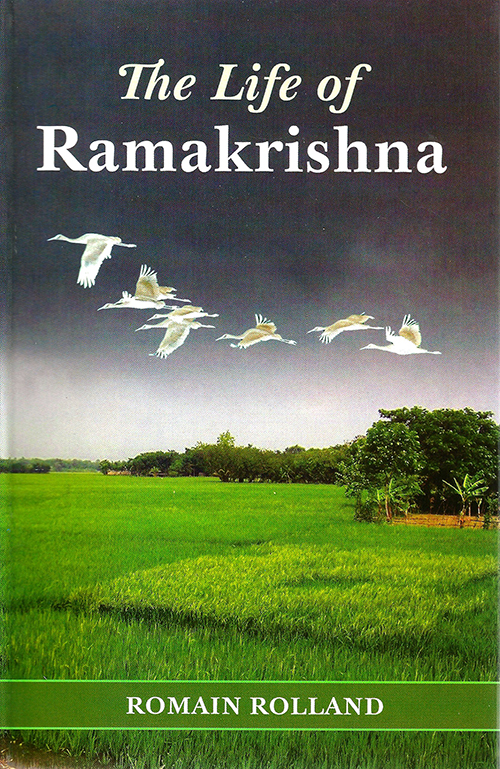 Life of Ramakrishna cover; features birds flying over a field